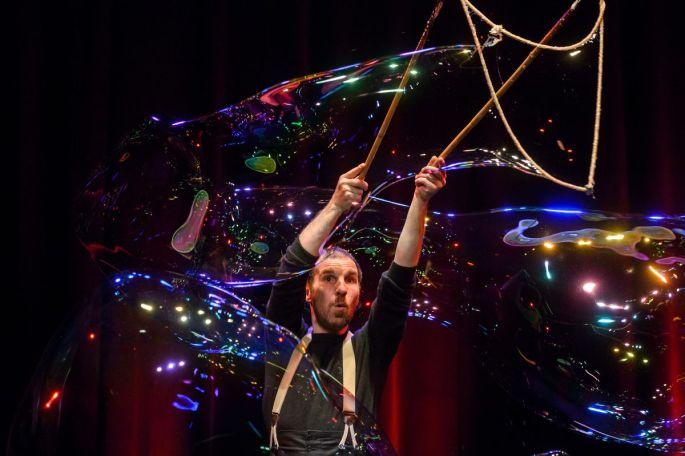 Les bulles géantes de Sébastien Kauffmann