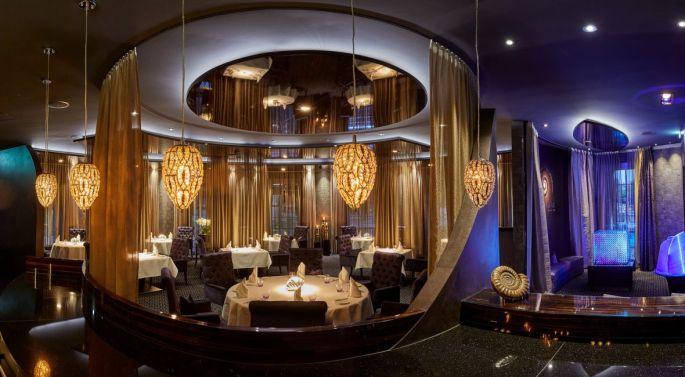 On peut manger dans un restaurant étoilé !