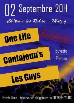 One Life / Cantajeun\'s / Les Guys