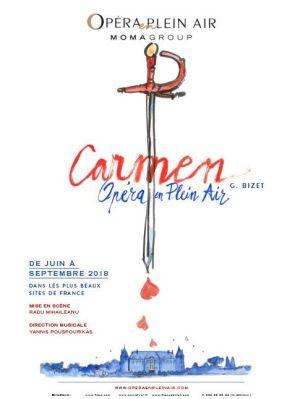 Opéra en plein air : Carmen