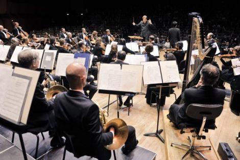 L\'Orchestre Philharmonique de Strasbourg en plein concert