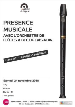 Orchestre de flûtes à bec du Bas-Rhin