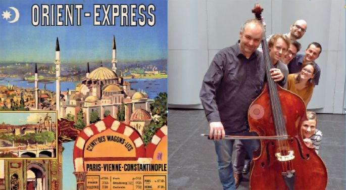 Orchestre Symphonique de Mulhouse : Sur les traces de l\'Orient Express