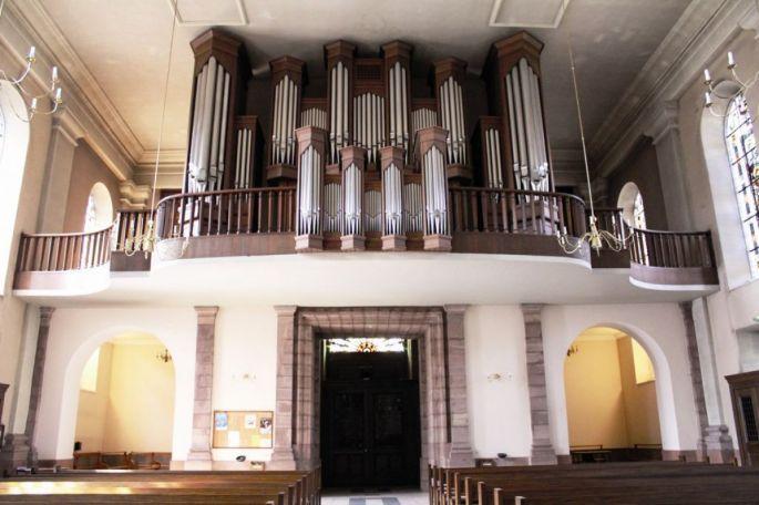 Orgue de l\'Eglise Saint-Martin - Masevaux