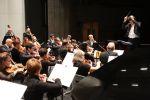 Les musiciens de l\'Orchestre Symphonique de Mulhouse en plein concert