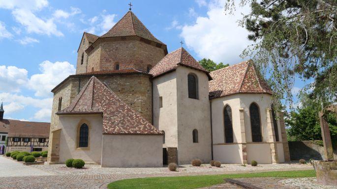 La majestueuse Abbatiale Saints-Pierre-et-Paul d\'Ottmarsheim