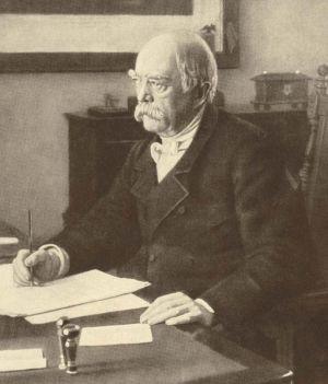 Otto von Bismarck, instigateur du plan de sécurité sociale portant son nom