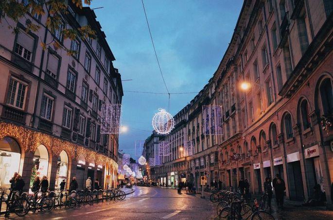 Où se garer au marché de Noël de Strasbourg?