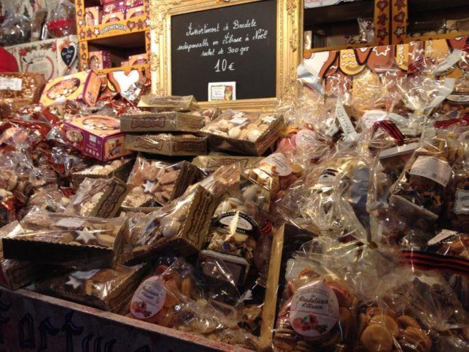 Les pains d\'épices Fortwenger sur les étals du Marché de Noël de Strasbourg !