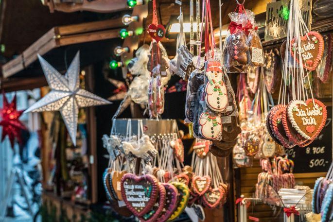 Pains d\'épices et autres sucreries du marché de Noël de Fribourg (Allemagne)