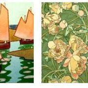 Papier peint et Art Nouveau : création, production, diffusion