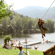 Aventures en plein air au Parc Arbre Aventure - Saison 2009
