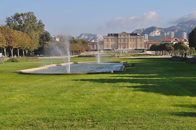Le parc Borély de Marseille
