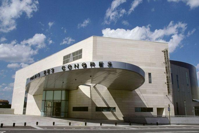 Façade du Palais des Congrès de Dijon