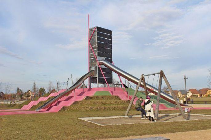 Parc des Gravières à Kingersheim