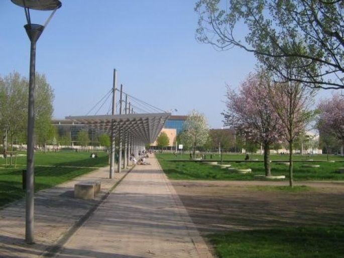 Le Parc des Poteries à Strasbourg