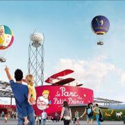 La tête dans les airs avec le Parc du Petit Prince à Ungersheim