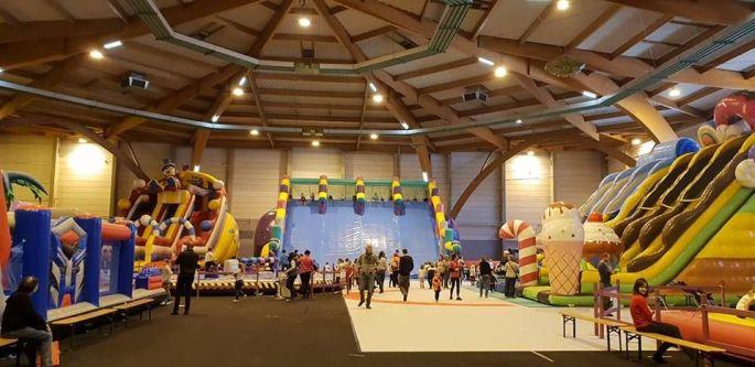 Le Parc Loca Gonfle à Colmar, le paradis des enfants!