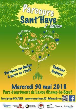 Parcours Sant\'Haye 2e édition à Laxou