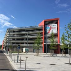 Parking Relais P+R Gare de Saint-Louis