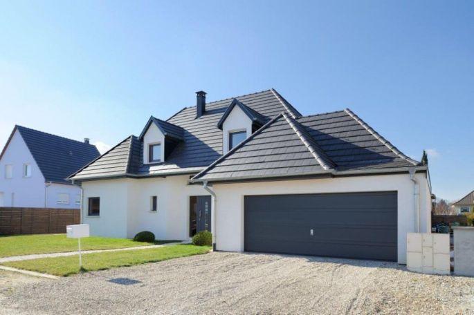 L\'une des nombreuses maisons témoins qui ouvre ses portes lors des rencontres Parlons Maison en Alsace