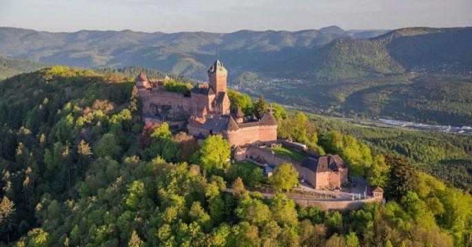 Partir à l'assaut du château du Haut-Koenigsbourg !