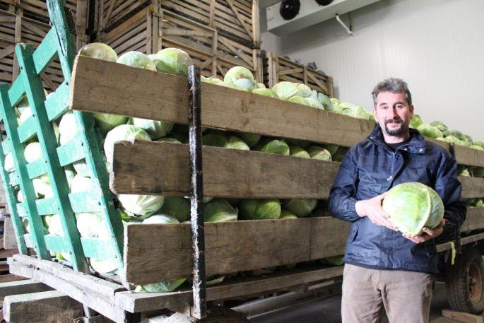 Pascal Claude, producteur de choucroute made in Haut-Rhin