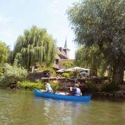 Sortie en canoë sur l\'Ill aux alentours de Sélestat
