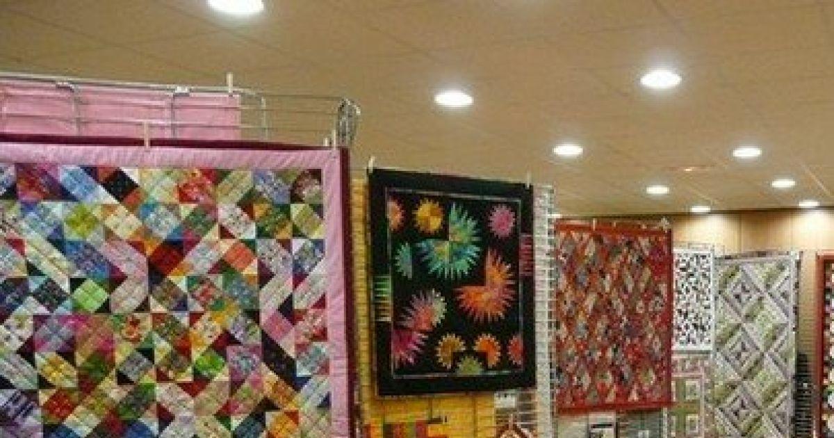 exposition patchwork jeu de mati re et de couleur zillisheim foyer saint laurent. Black Bedroom Furniture Sets. Home Design Ideas