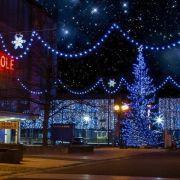 Patinoire de Noël à Saint-Louis