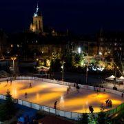 Noël 2018 à Colmar : La patinoire de Noël