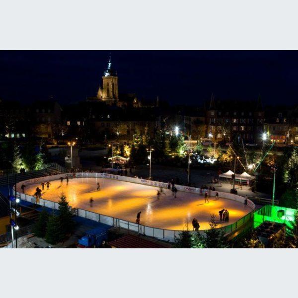patinoire strasbourg noel 2018 Noël à Colmar : La patinoire de Noël   Place Rapp patinoire strasbourg noel 2018