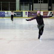 Patinoire provisoire pendant les travaux de la patinoire de Mulhouse