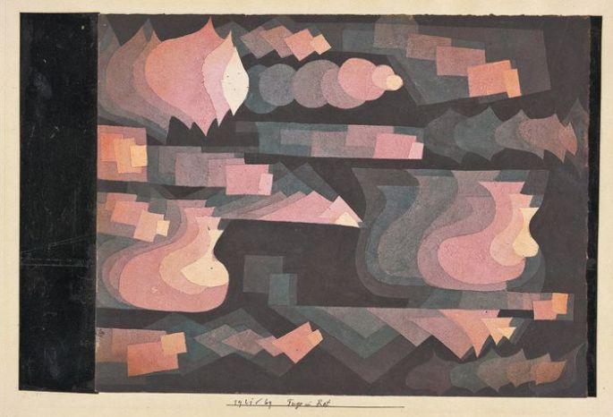 Fugue en rouge, Paul Klee 1921
