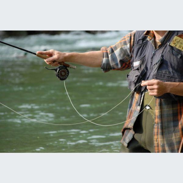 La pêche sur la rivière la doiseau