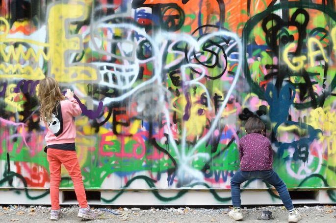 Peinture Fraîche Festival Lyon