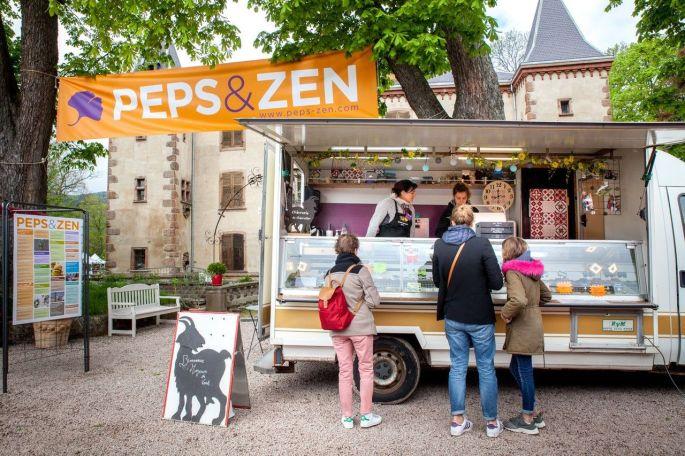 Le salon Peps & Zen dans le très beau cadre du Château de Thanvillé