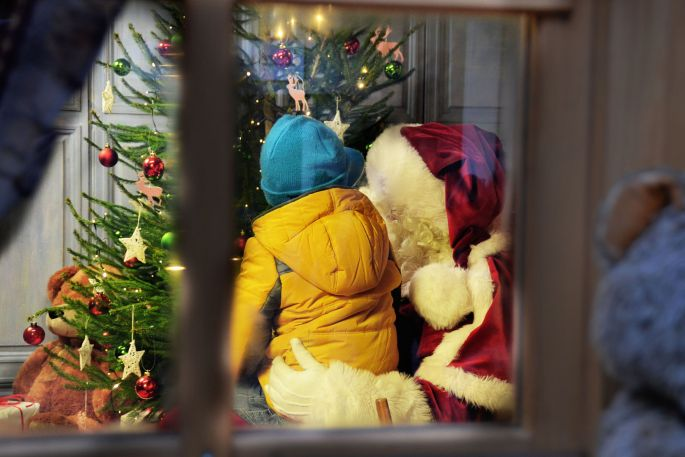 Le Père Noël vous accueille dans son village à Sierck les Bains