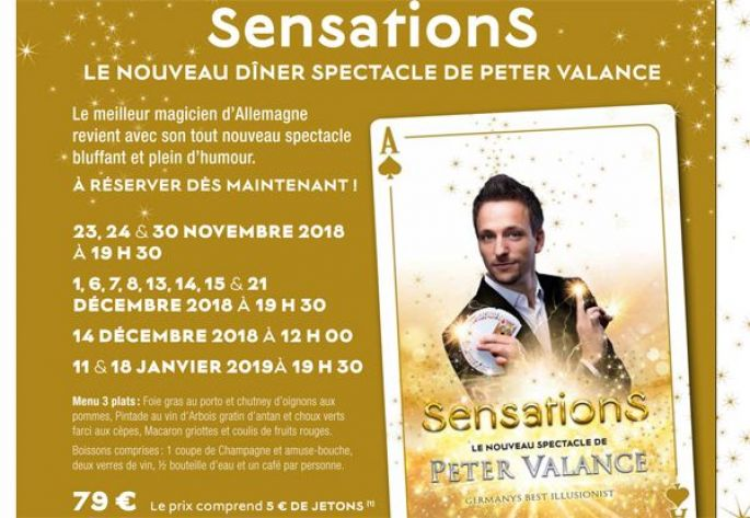 Peter Valance : SensationS