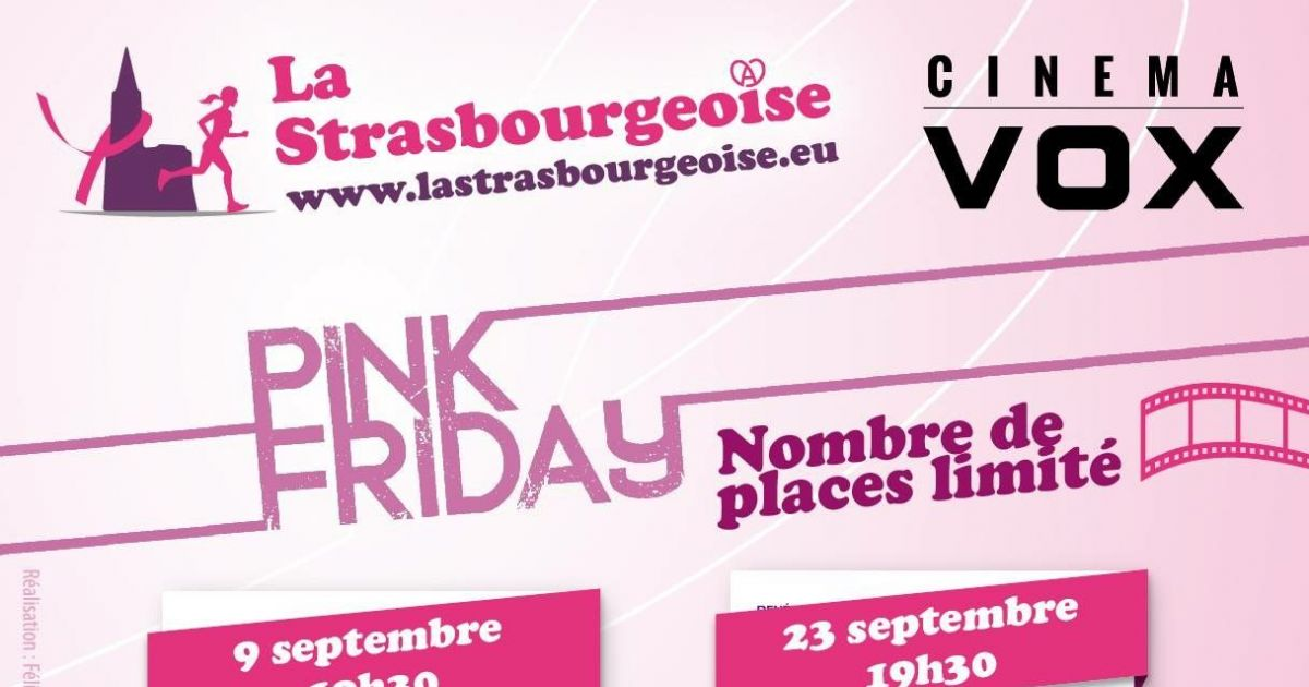 Pink friday grease strasbourg actu cin ma vox for Strasbourg cinema