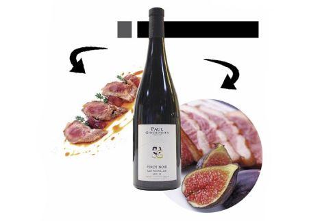 Pinot Noir et Pluma ou Magret de canard