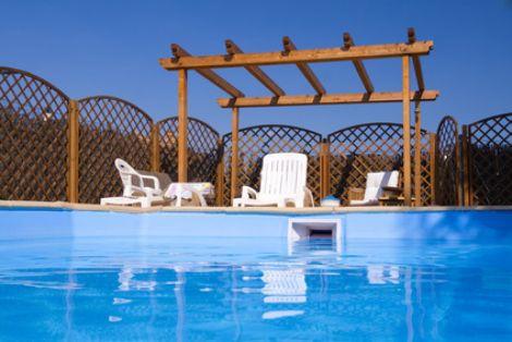 Une piscine à domicile