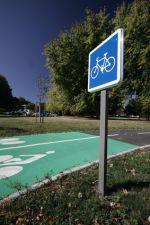 Piste cyclable de Scharrachbergheim-Irmstett à StrasbourgIrmstett