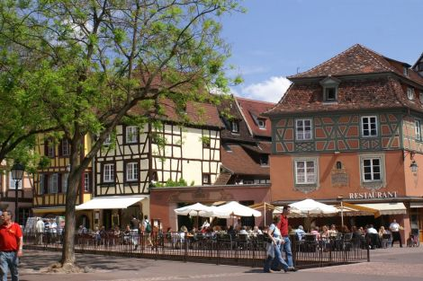 Place de l\'Ancienne Douane à Colmar