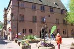 Place de l\'Hôtel de Ville à Kaysersberg