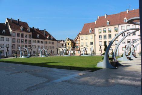 Place du 2 février à Colmar