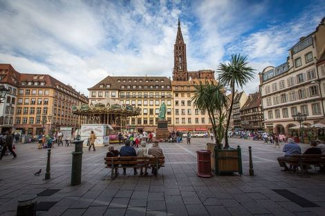 La Place Gutenberg à Strasbourg