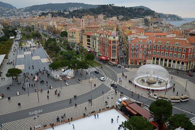 Place Masséna de Nice