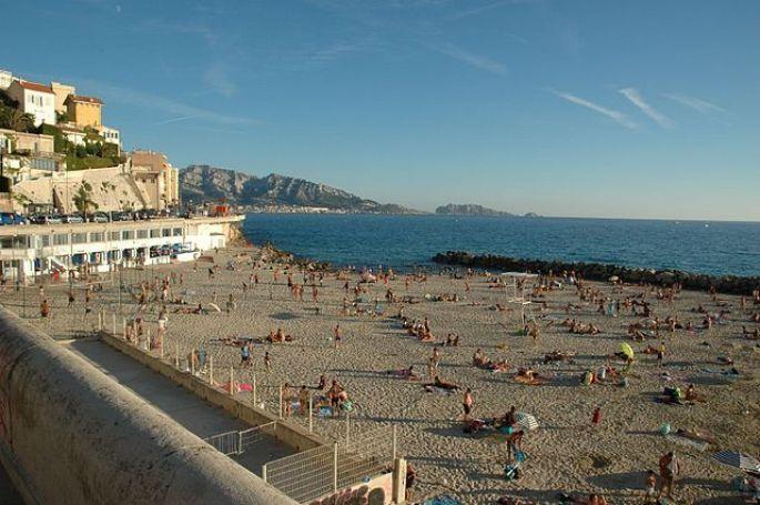 Plage du prophète à Marseille
