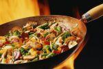 Une poêlée de légumes frais assaisonnés ravira les végétariens... comme les autres !